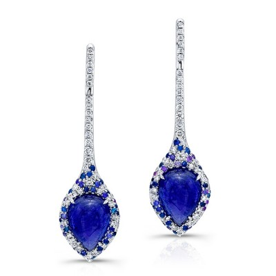Tanzanite Drop Earrings