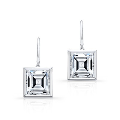 Carre Diamond Earrings
