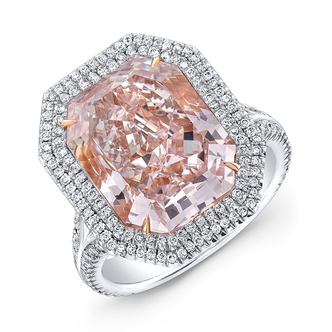 Radiant Cut Fancy Pink Diamond